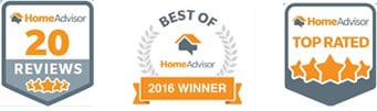 HomeAdvisor Award Winner