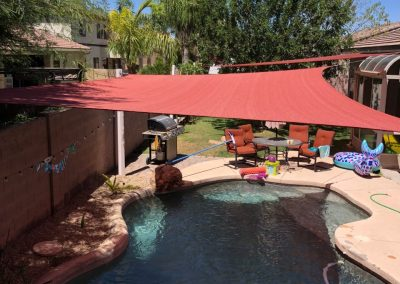Shade for pool
